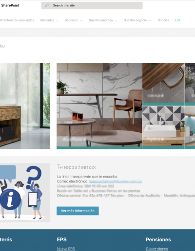 intranet home
